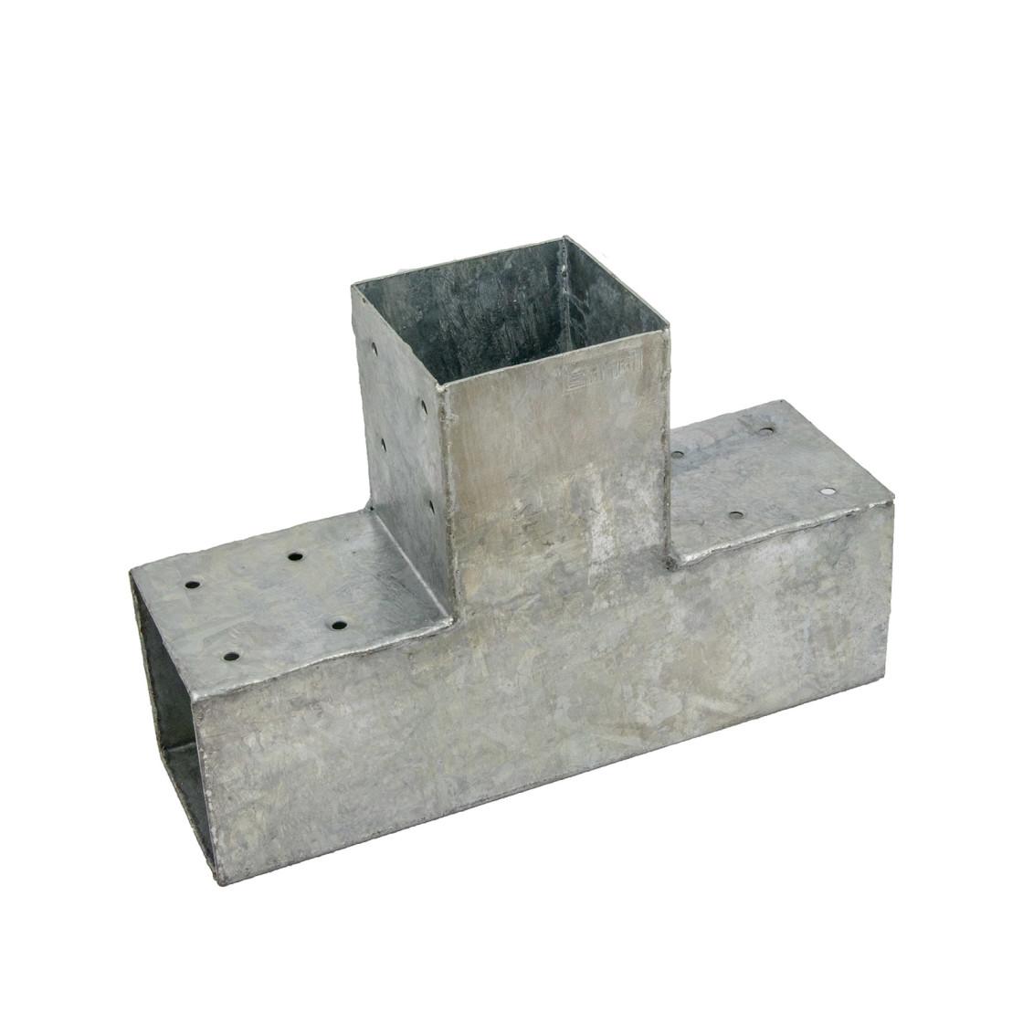 70 x 70 mm Pfostenverbinder Doppelt verzinkt Balkenschuh Holzverbinder Balken
