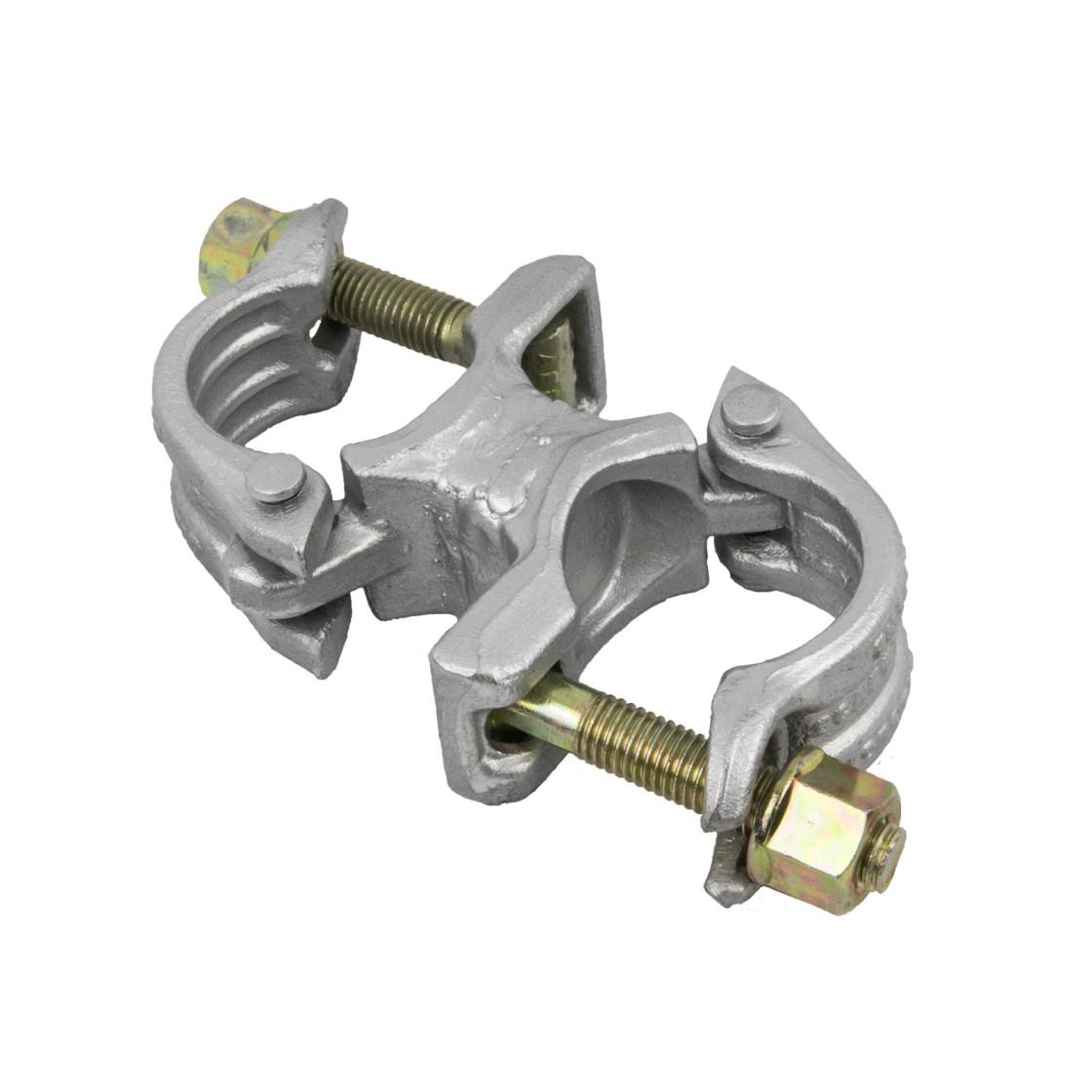 Ger/üst Rohrverbinder Stahl verzinkt